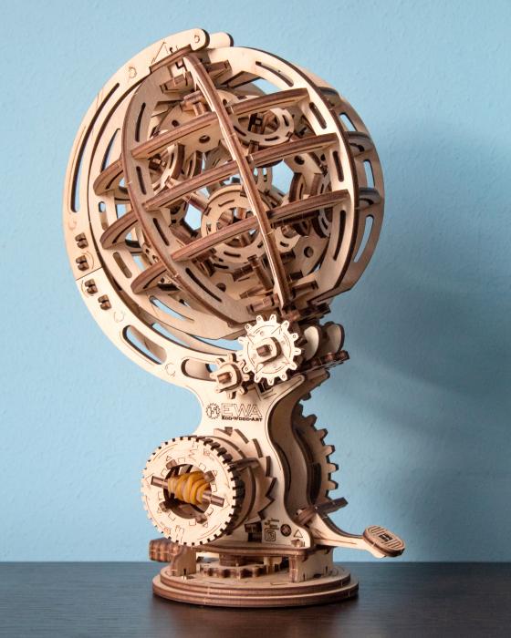 Puzzle 3D Mecanic, Glob kinetic 1
