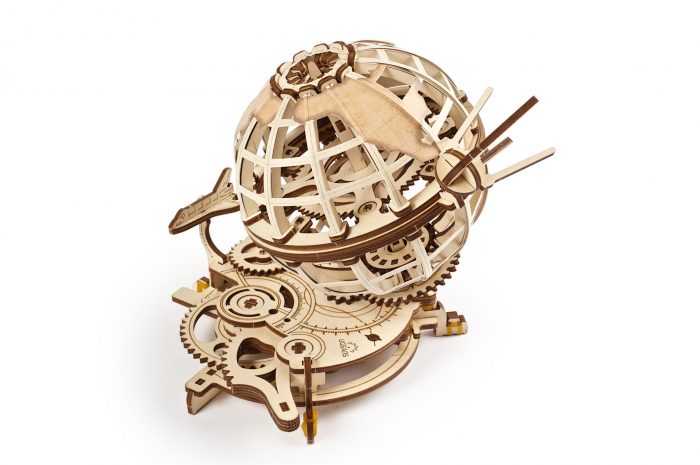 Puzzle 3D Mecanic, Glob Pamantesc, 184 piese [0]