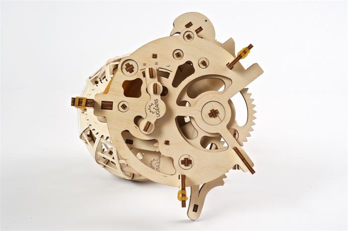 Puzzle 3D Mecanic, Glob Pamantesc, 184 piese [1]