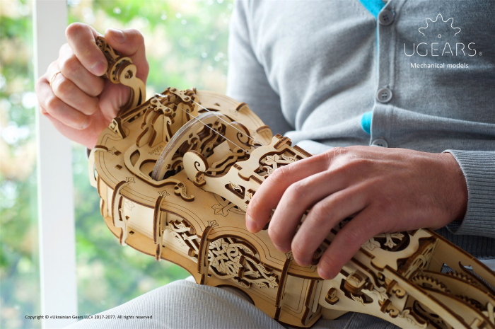 Puzzle 3D Mecanic, Hurdy-Gurdy, 292 piese [7]