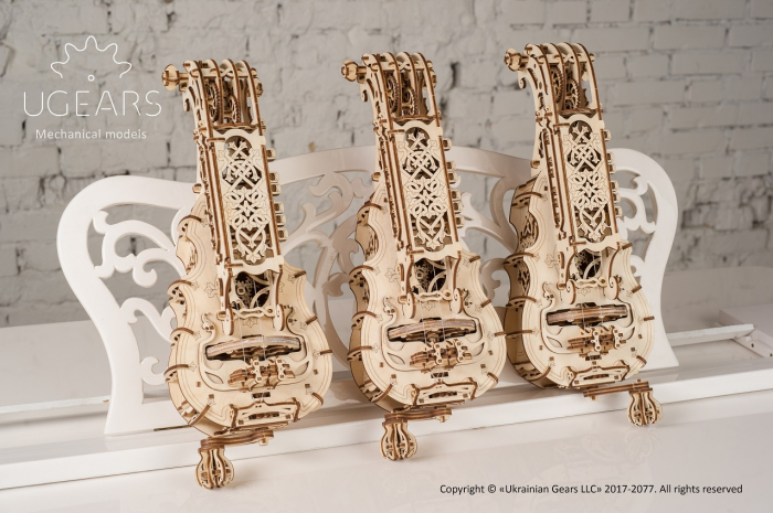 Puzzle 3D Mecanic, Hurdy-Gurdy, 292 piese [8]