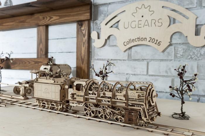 Puzzle 3D Mecanic, Locomotiva, 443 piese [4]