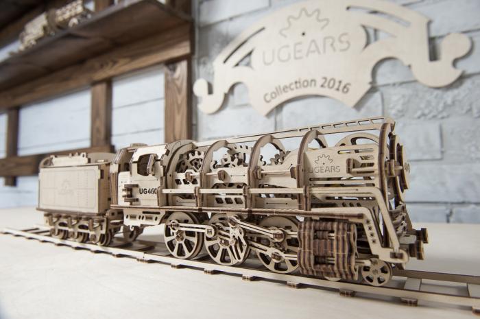 Puzzle 3D Mecanic, Locomotiva, 443 piese [6]