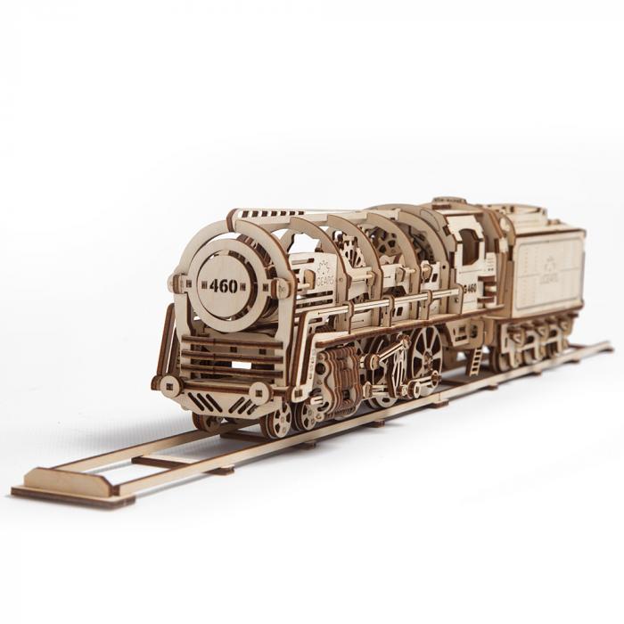 Puzzle 3D Mecanic, Locomotiva, 443 piese [0]