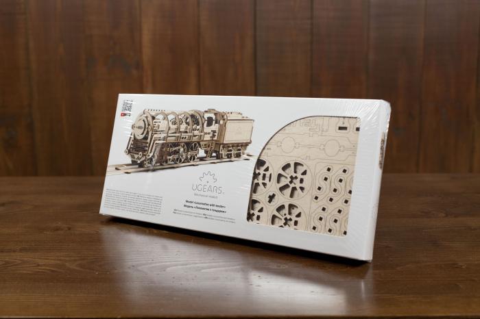 Puzzle 3D Mecanic, Locomotiva, 443 piese [9]