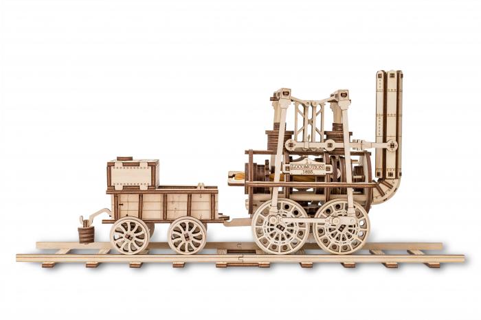 Puzzle 3D Mecanic, Locomotiva cu abur 0