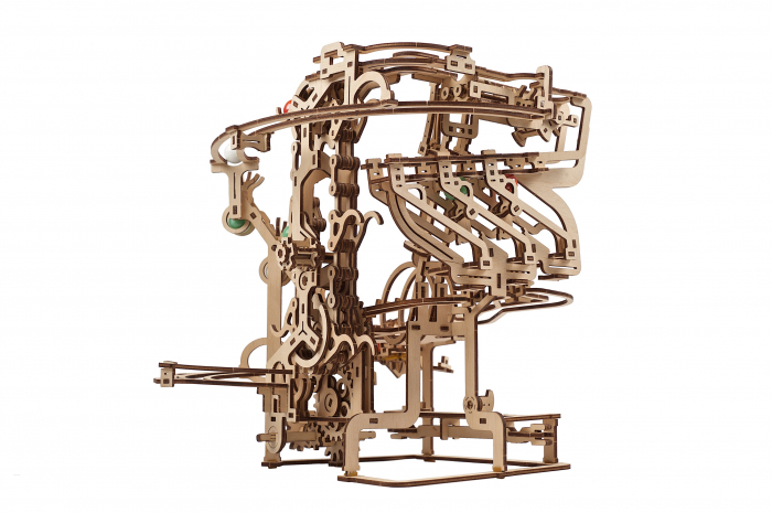 Puzzle 3D Mecanic, Marble Run Chain, 400 piese [15]