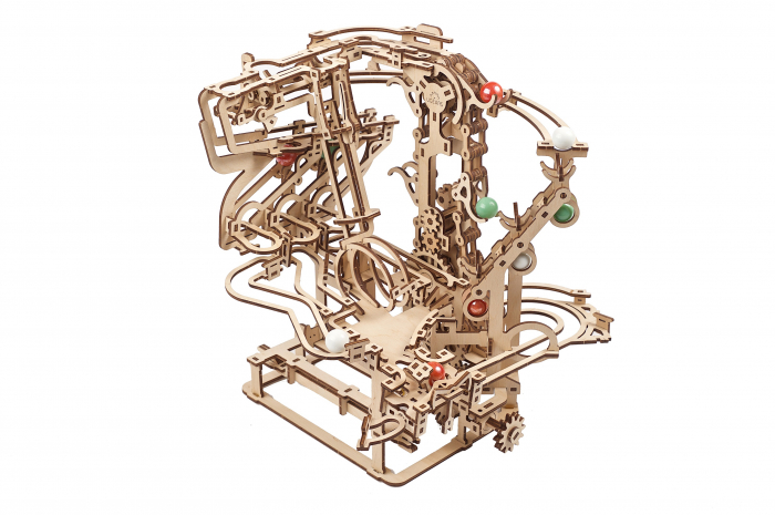 Puzzle 3D Mecanic, Marble Run Chain, 400 piese [2]