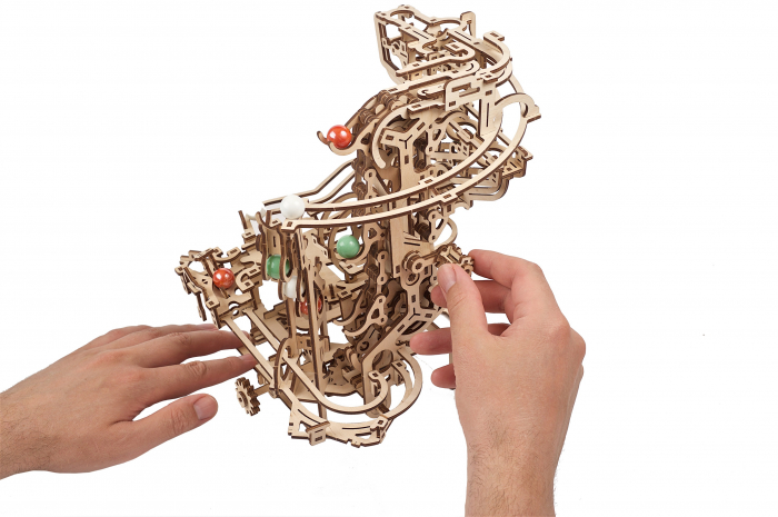 Puzzle 3D Mecanic, Marble Run Chain, 400 piese [7]