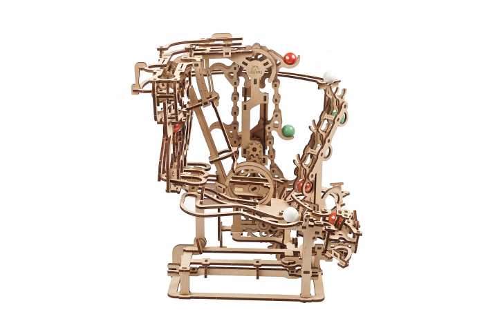 Puzzle 3D Mecanic, Marble Run Chain, 400 piese [10]