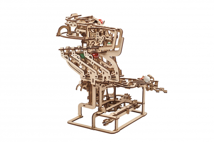 Puzzle 3D Mecanic, Marble Run Chain, 400 piese [13]