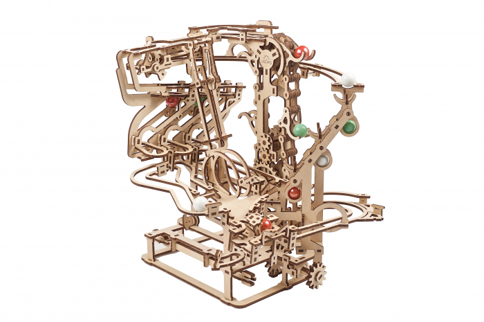 Puzzle 3D Mecanic, Marble Run Chain, 400 piese [0]