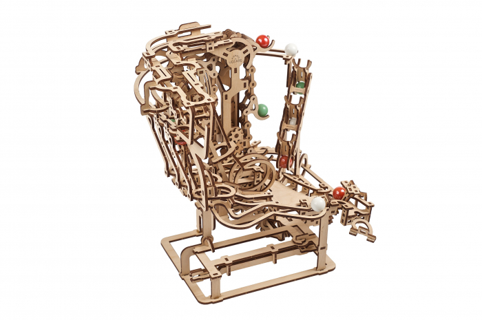 Puzzle 3D Mecanic, Marble Run Chain, 400 piese [12]