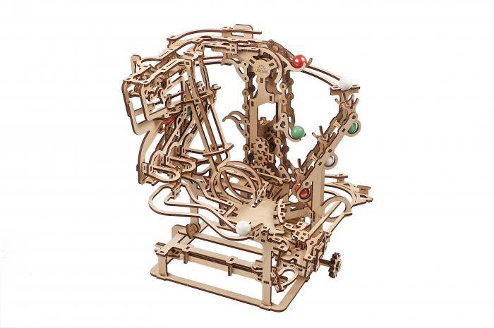 Puzzle 3D Mecanic, Marble Run Chain, 400 piese [3]