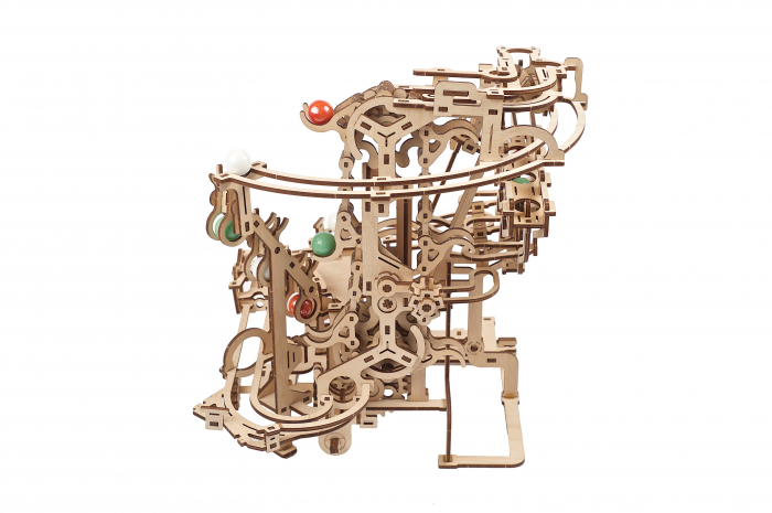 Puzzle 3D Mecanic, Marble Run Chain, 400 piese [4]