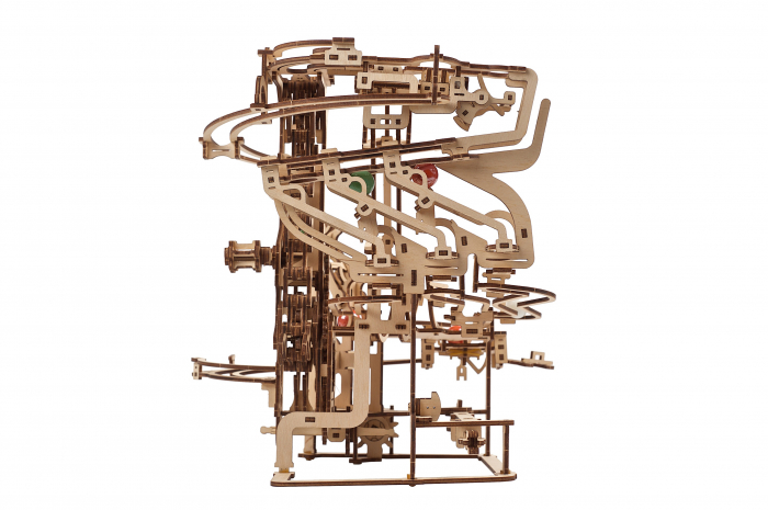 Puzzle 3D Mecanic, Marble Run Chain, 400 piese [14]