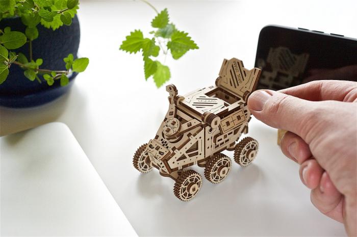 Puzzle 3D Mecanic, Mars Buggy 95 piese [6]