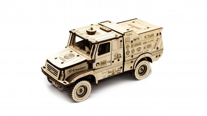 Puzzle 3D Mecanic, Masina off-road MAZ 6440RR [0]