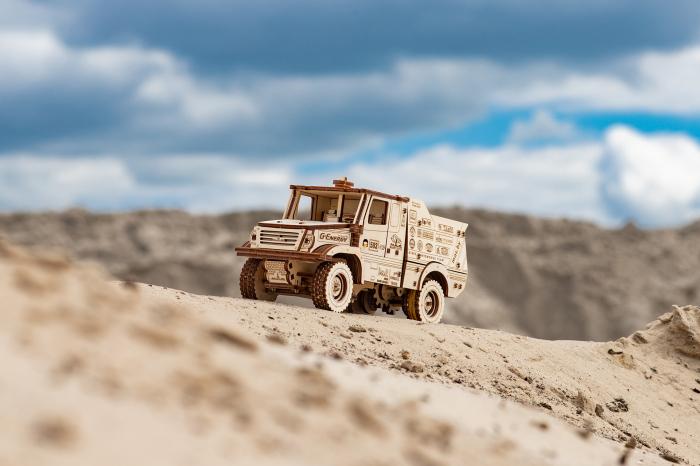 Puzzle 3D Mecanic, Masina off-road MAZ 6440RR [5]