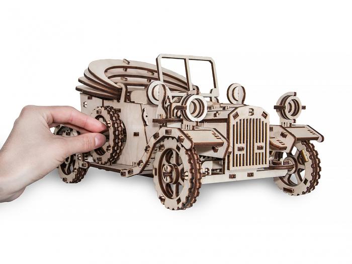 Puzzle 3D Mecanic, Masina Retro [1]