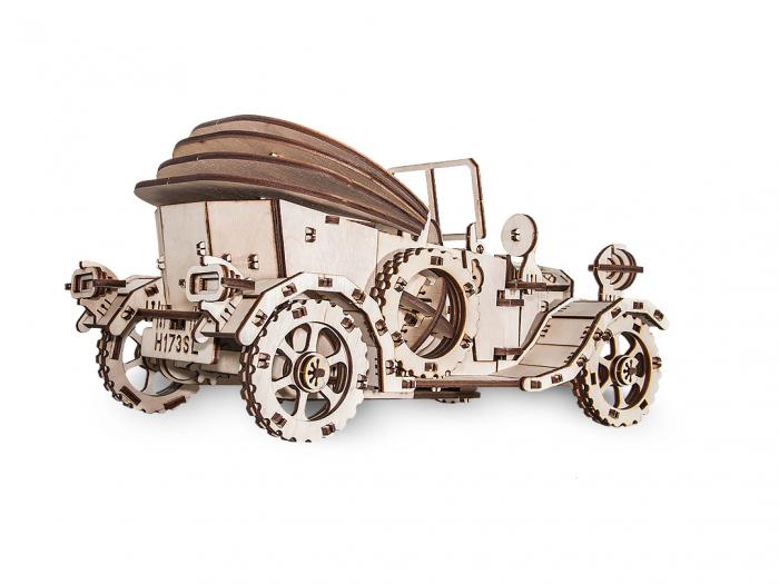 Puzzle 3D Mecanic, Masina Retro [4]