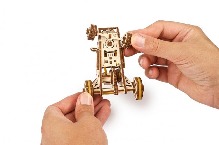 Puzzle 3D Mecanic, Mini Buggy 80 piese [4]