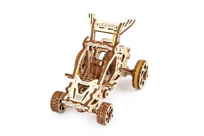 Puzzle 3D Mecanic, Mini Buggy 80 piese [1]