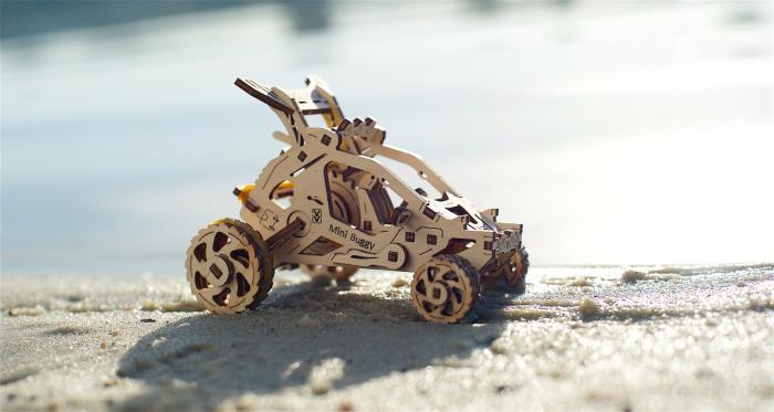 Puzzle 3D Mecanic, Mini Buggy 80 piese [5]