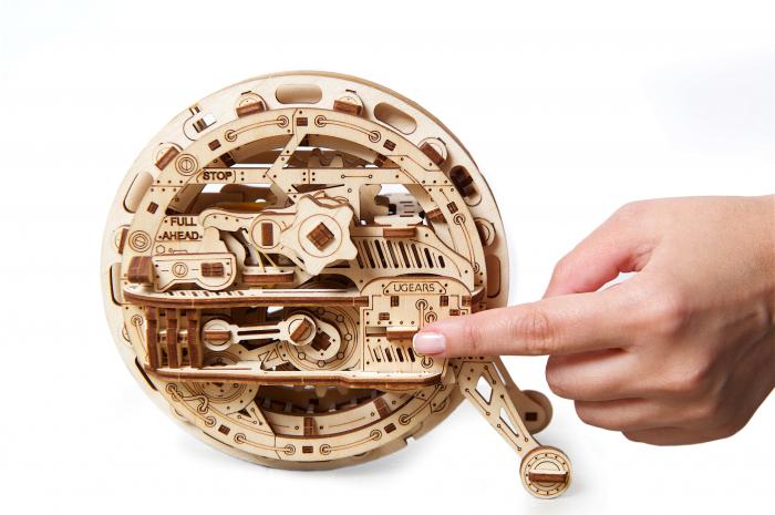 Puzzle 3D Mecanic, Monociclu [1]