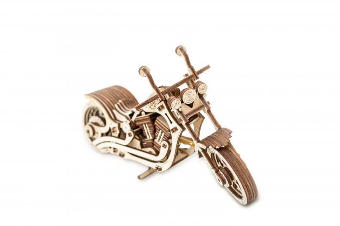Puzzle 3D Mecanic, Motocicleta 4