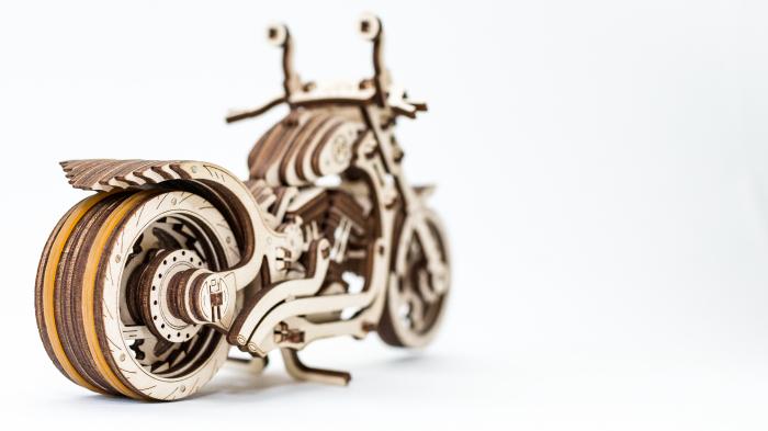 Puzzle 3D Mecanic, Motocicleta 8