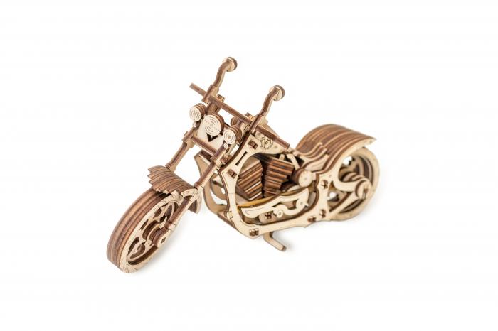 Puzzle 3D Mecanic, Motocicleta 3