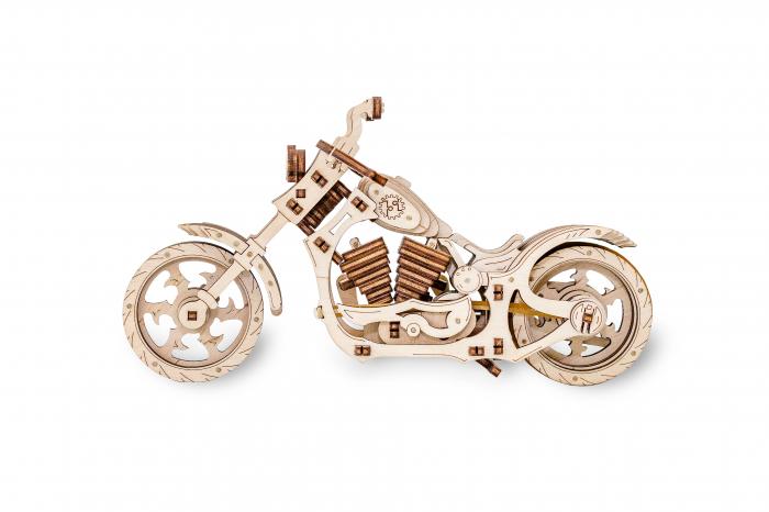 Puzzle 3D Mecanic, Motocicleta 7