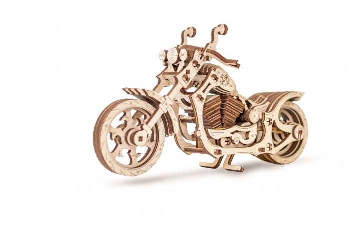 Puzzle 3D Mecanic, Motocicleta 0