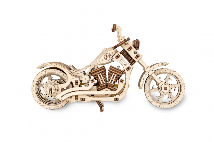 Puzzle 3D Mecanic, Motocicleta 6