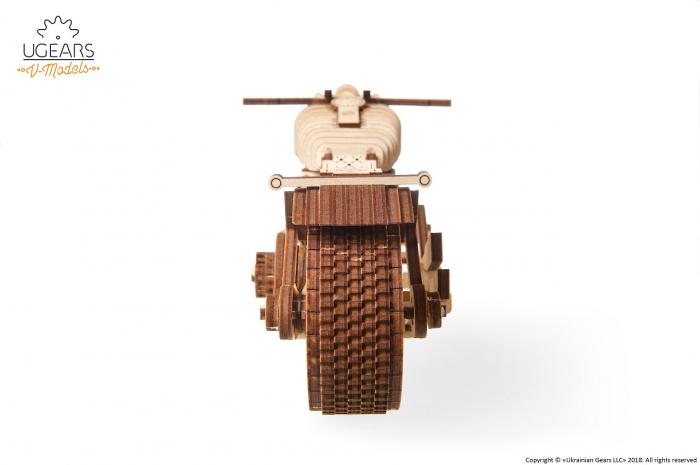 Puzzle 3D Mecanic, Motocicleta VM-02, 189 piese [2]