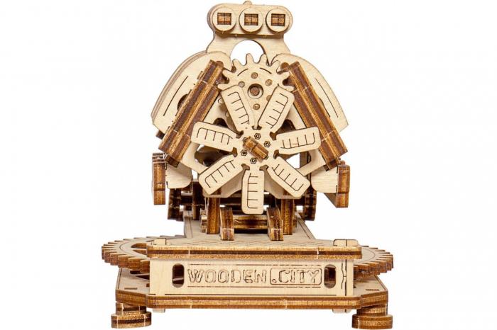 Puzzle 3D Mecanic, Motor V8 [1]
