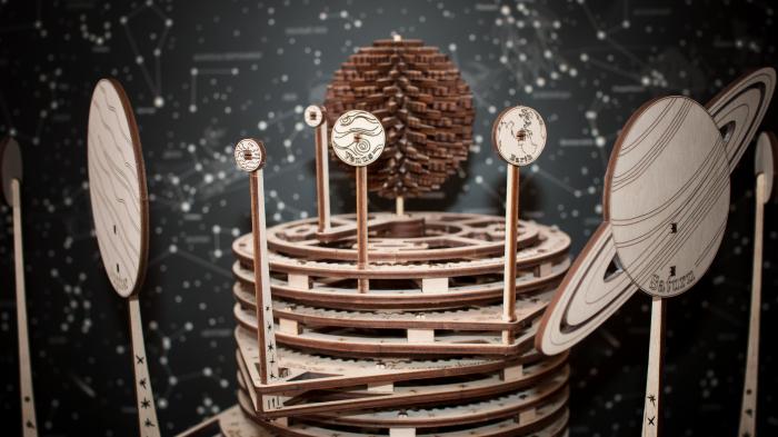 Puzzle 3D Mecanic, Planetarium [6]
