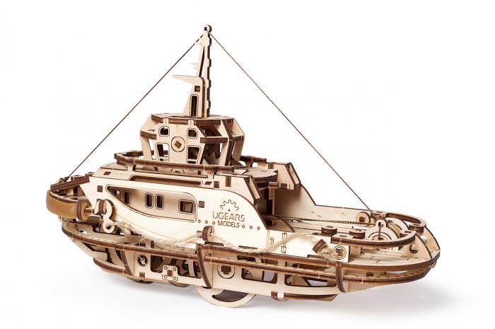 Puzzle 3D Mecanic, Remorcher, 169 piese [5]