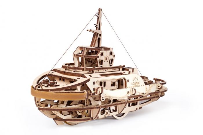 Puzzle 3D Mecanic, Remorcher, 169 piese [4]