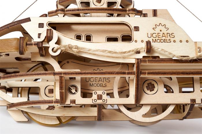 Puzzle 3D Mecanic, Remorcher, 169 piese [8]