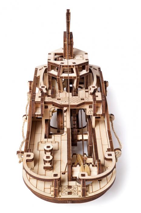 Puzzle 3D Mecanic, Remorcher, 169 piese [6]