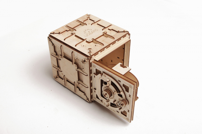 Puzzle 3D Mecanic, Seif, 179 piese [0]
