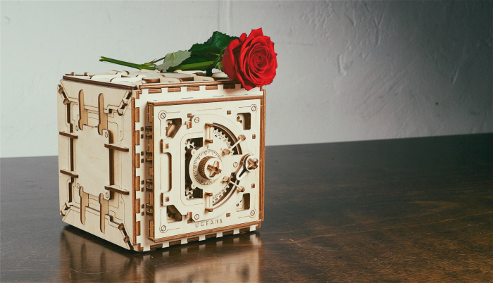 Puzzle 3D Mecanic, Seif, 179 piese [2]