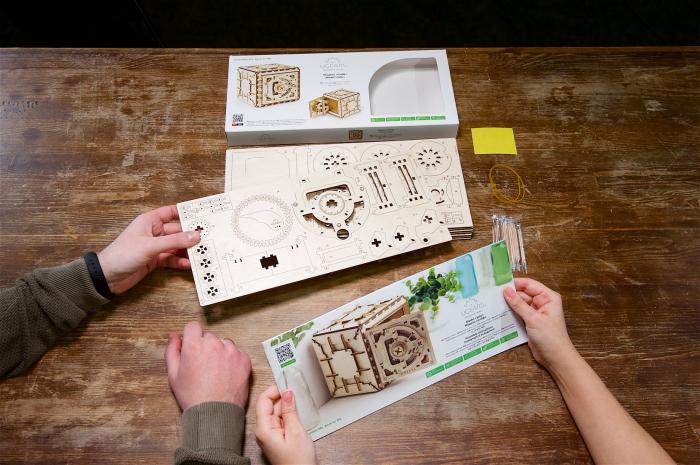 Puzzle 3D Mecanic, Seif, 179 piese [4]