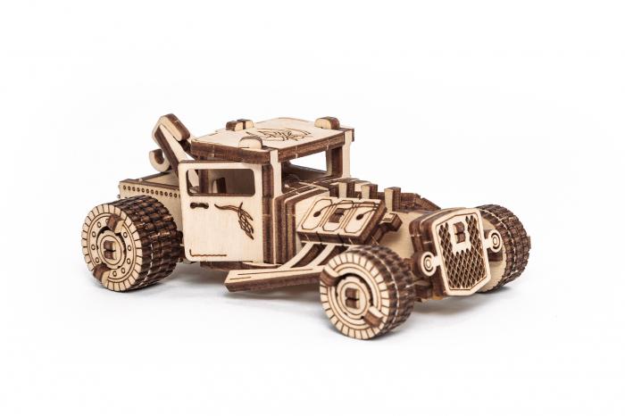 Puzzle 3D Mecanic, Set 5 Vehicule Mecanice [3]