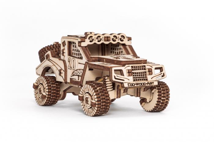 Puzzle 3D Mecanic, Set 5 Vehicule Mecanice [5]