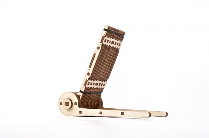 Puzzle 3D Mecanic, Suport pliabil pentru telefon, 73 piese [3]