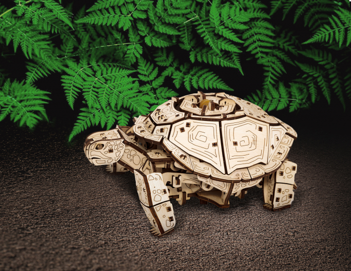 Puzzle 3D Mecanic, Testoasa [3]