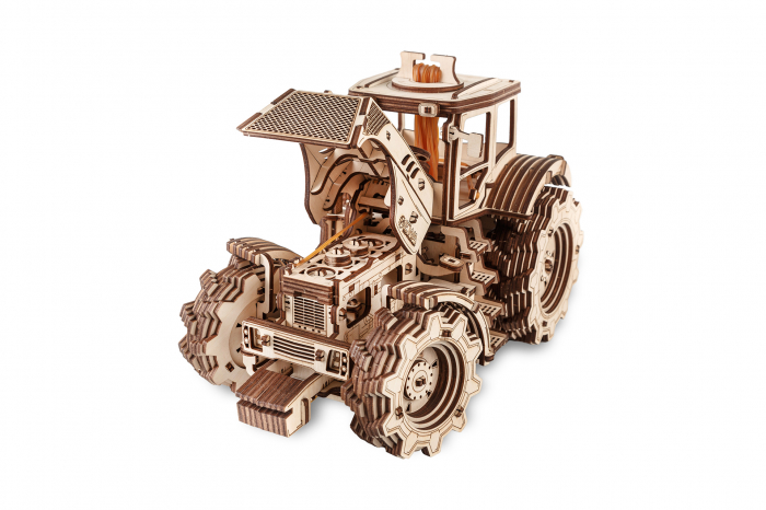 Puzzle 3D Mecanic, Tractor [2]